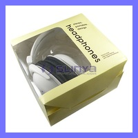 White Stereo PC Headset Computer Headphone