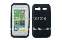 Free shipping 1pc popular for HTC Radar 4G Silicone GEL Skin Case by CUBIX