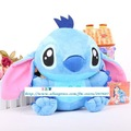 Free shipping 25cm Plush Dolls cute blue Stitch, Stuffed &amp; Plush toys, baby dolls/gift