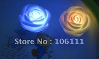 Romantic  Love  ROSE  led  light color changing in water  Valentine's  Day  party  wedding decoration 7 colors with battery