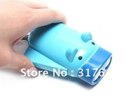 Popular cute pig environment protection manual energy torch