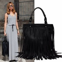 Free Shipping,Olivia Palermo handbag,Celebrity/Design handbags,shoulder bags,PU bag,Long fringe hand bags NEW ARRIVALS
