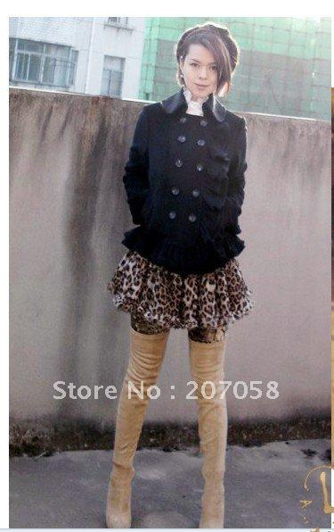 Одежда и Аксессуары Ladies fashion chiffon skirt / ladies mini skirt with ruffles /girls skirt
