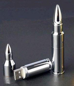 Wholesale NEW silver bullet Genuine 2GB 4GB 8GB 16GB 32GB USB 2.0 Memory Stick Flash Pen Drive