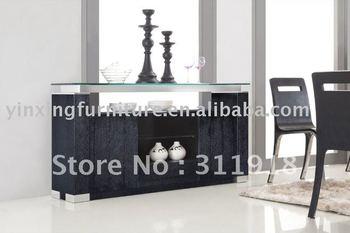 Black Oak Wooden Sideboard 741#
