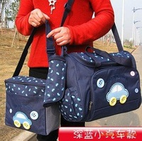 Wholesale-mom diaper bag 4pcs one set backpack bag