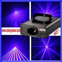 blue laser light show