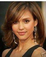 New Wonderful short brown women's full wig