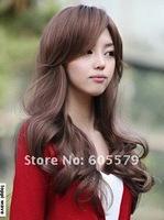 2014 Korean Fashion Brown Long Curly Women's Lady's Hair Wig/Wig W8900