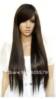 SUPER LONG New Sexy Style Straight Hair Full Wig +gift