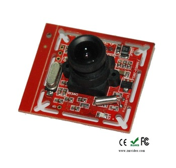 0.3MP Serial RS485/RS232 CMOS Board Camera Module for Security System