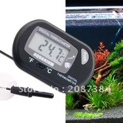 Digital LCD Fish Aquarium Marine Vivarium Thermometer(China (Mainland))