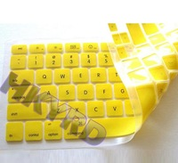 Silicone Keyboard cover skin for macbook PRO 13.3 Yellow E4013