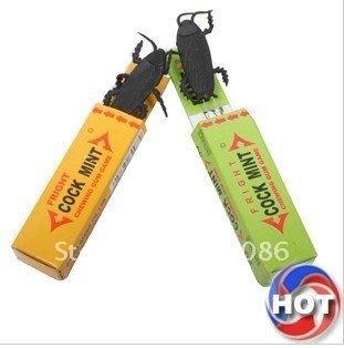 Wholesale 50pcs/lot Novelty joking toys exploding gum Shock toys joking gum fast delivery free shipping
