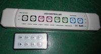 RF LED RGB controller,DC12-24V input;216w output