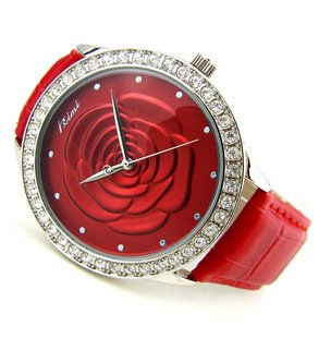 ENMEX_Girl&Lady summer folwer bracelet Wrist Watch for Present&Gift_beautiful_FREE SHIPPING_wholesale&retail