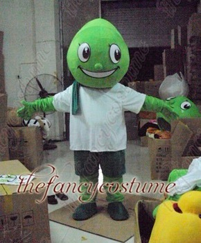 The Green Dinosaur Mascot Costume Adult Size Fancy Dress Party Outfit Free Shipping