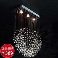 [ Jin Moon Creative heart-shaped crystal chandeliers Bedroom, living room lights wedding lights restaurant Romantic lighting fix