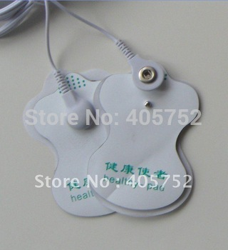 20pcs/lot good quality white Electrode Pads for Tens Acupuncture,Slimming massager , Digital Therapy Machine Massager