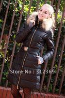 Ladies Down Coat Black Long Down Jackets For Women,Fashion Down Coats Women Winter Coat Warm Ladies Down Jackets Best Selling