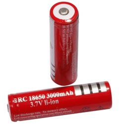 2PCs/lot Ultrafire 18650 Battery 3.7V 3000 mAh Lithium li-ion Camera Flashlight Torch Battery 18650 rechargeable Battery(China (Mainland))