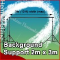 Free shipping & Tracking # - Photo Studio Background Support 2mx3m 7 x 10 ft + BAG - Wholesale/ Retail  AO0011