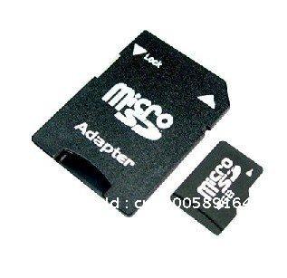 4GB micro SD Memory Card+Free micro sd card adapter