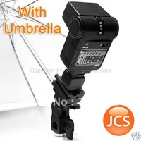 Flash Holder Tripod/Stand Mount White Diffuser Umbrella