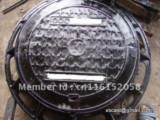 russia manhole cover.ductile iron manhole cover(China (Mainland))