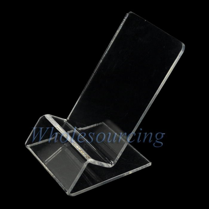 10x New Clear Acrylic Stand Mount Holder for Apple iPhone 4 4S 3GS iPod Touch Cell - Mobile Mania Competition January 2014