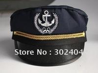 Free shipping cool Captain cap Skipper cap Sailor hat