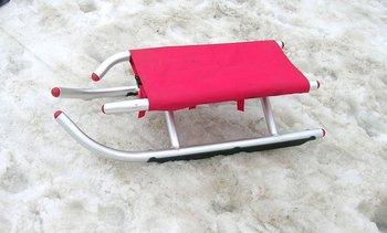 Folding ski car snow sleds  trotisnow Snow sledge sled Skiing board
