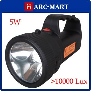 Super Bright LED Mining Hunting Camping Spotlight Searchlight White light 5W 1000lux # HK165