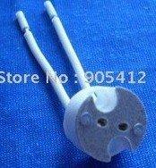Chinapost delivery 100pcs lamp base lamp socket lampbase MR16
