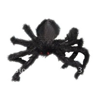 large stuffed spider, Halloween horror ghost toys / props haunted house party supplies bar