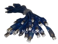 USB 2.0 A-B PRINTER SCANNER CABLE 30cm 10pcs/lot hot sale free shipping