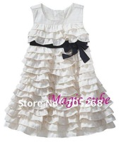 Good quality new chiffon girl magic cube dress, girl's dress,girl's clothing ,girls skirts,baby skirts