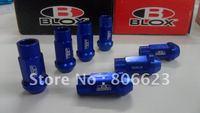 BLOX BLUE ALUMINIUM 12x1.25 LUG NUTS
