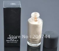 4PCS/lot  NEW makeup Foundation STUDIO FIX FLUID SPF 15 FOND DE TEINT SPF15 30ML