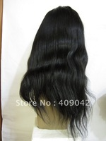 Free shipping! In stock fashion 100%Indian remy hair 16inch ,best quality full lace wig