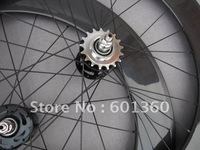 carbon 88mm fixed gear wheels tubular/700c carbon track bicycle wheelset