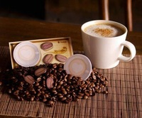 My coffee plate and coffee bean Sticky memo pad