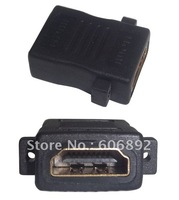 HDMI Adapter extend Converter, HDMI female to HDMI female, 20PCS/lot, HD 1080P,shipping via EMS or DHL