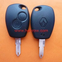 High Quality and Lower Price Renault 2 button remote key blank with free shipping 60%