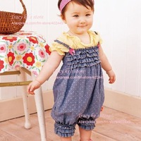 Платье для девочек 4Pieces/lot Kids Flag Suspender Children Overalls Baby Girls' Summer Dress