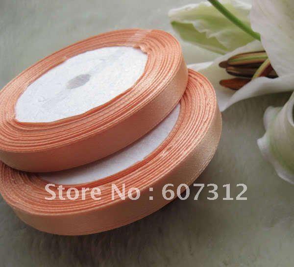 """Free shippping 250Y 3/8"""" Satin Ribbon Craft/Wedding ribbon/ Party gift warp retail and wholesale(China (Mainland))"""
