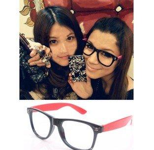 Fashion plastic retro glasses frames, vintage acetate reading glasses frames, cheap plain glasses, big eye optical glasses(China (Mainland))