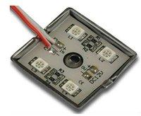 RGB 5050 LED Module 4pcs 5050 SMD RGB;DC12V input