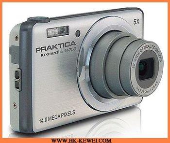 Free Shipping Compact Praktica Brand Original CCD DIGITAL Camera 14MP, 5X Optical Zoom,(14-Z50)