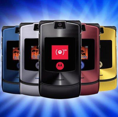 Singapore free shipping Original MOTOROLA RAZR V3i Unlocked GSM ATT T-Mobile Cell Phone Mobile MP3 Video 1.3MP Camera 5 Colors(China (Mainland))